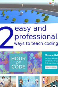 2 easy and 2 professional ways to teach coding