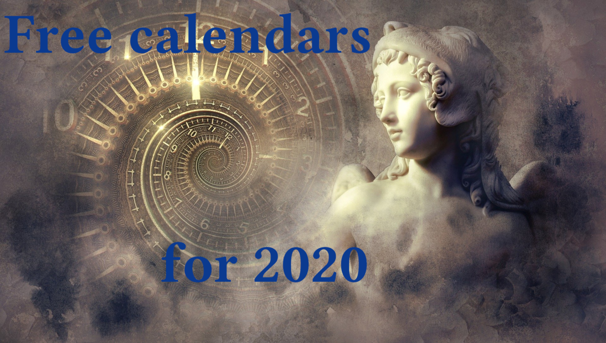 Free calendars for 2020 in TPT
