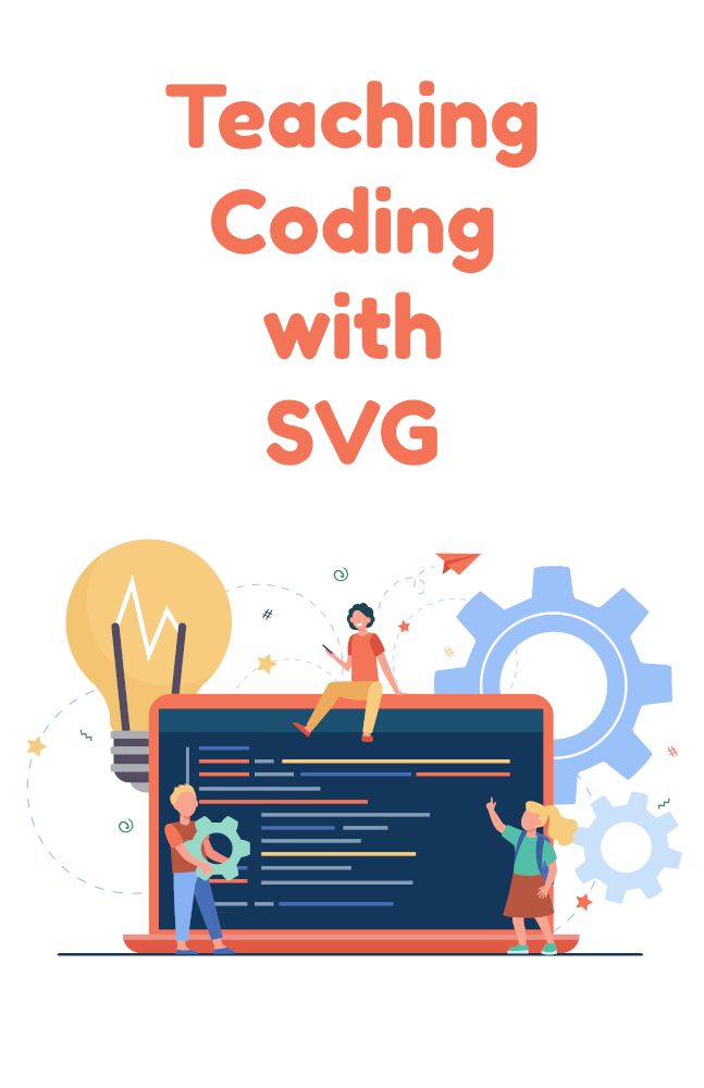 Teaching coding with vector graphics